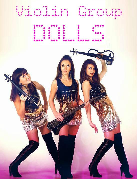 Violin Group DOLLS скрипичное шоу, струнное трио