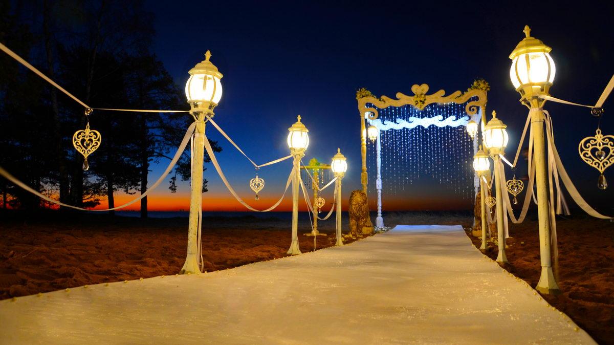 'Лунный Цвет' организация свадьбы, оформление, декор. Выездная регистрация.