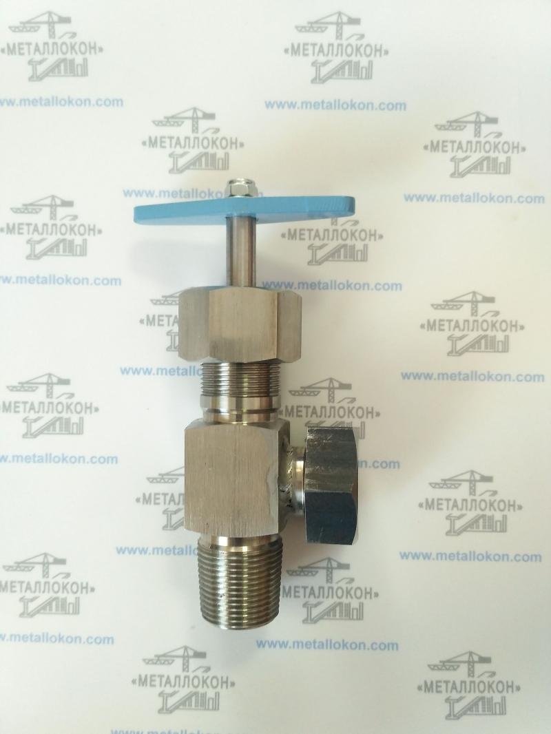 Газовый вентиль Ду12 Ру25 аналог 15нж13бк