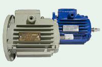 Электродвигатель обдува, в комплекте с крыльчаткой