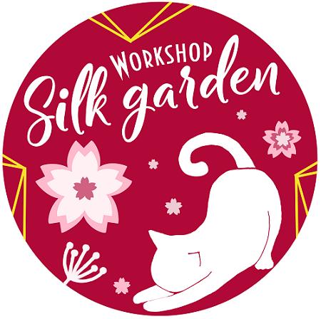 Японские ткани и разные вспомогательные инструменты для изготовления цветов