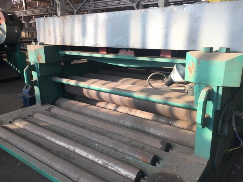 Листоправильная машина UBR9х2500  Пресс листоправильный  МЛЧ1725 20х1700-Листопр