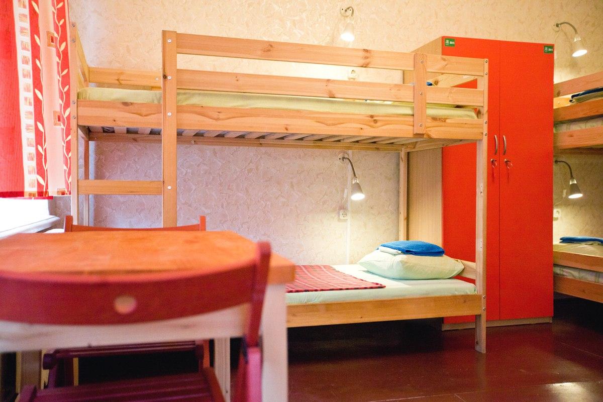 Сайт хостела, где можно забронировать дешевое койко-место