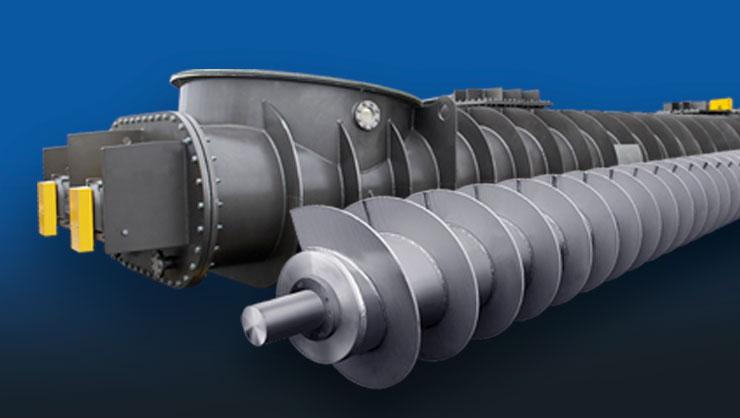 Спирали для Шнековых конвейеров Бурового оборудования, погрузчиков