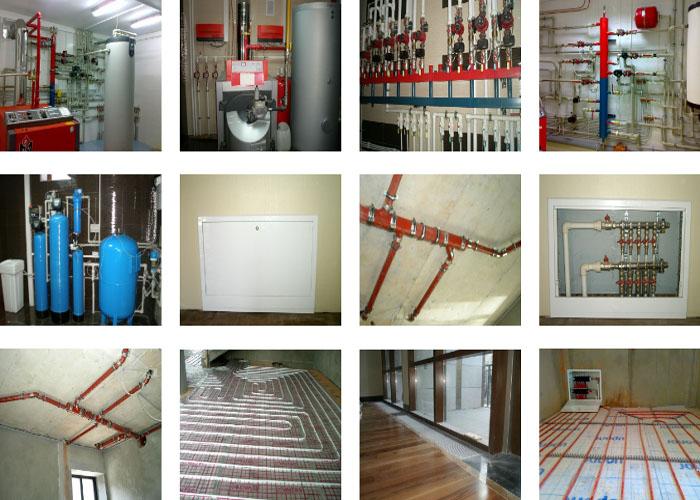 Установка отопления и водоснабжения в Наро-Фоминске