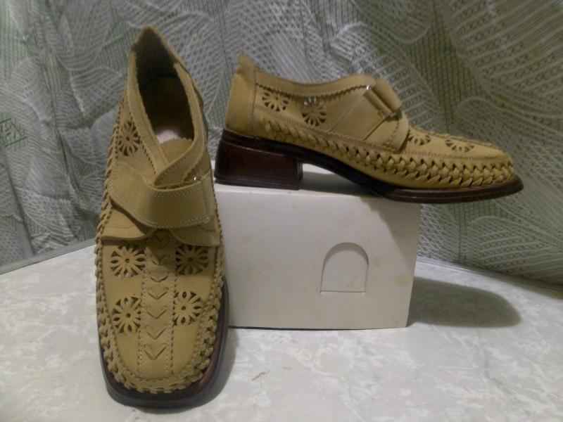 Туфли женские нубук  бу размер 38-39